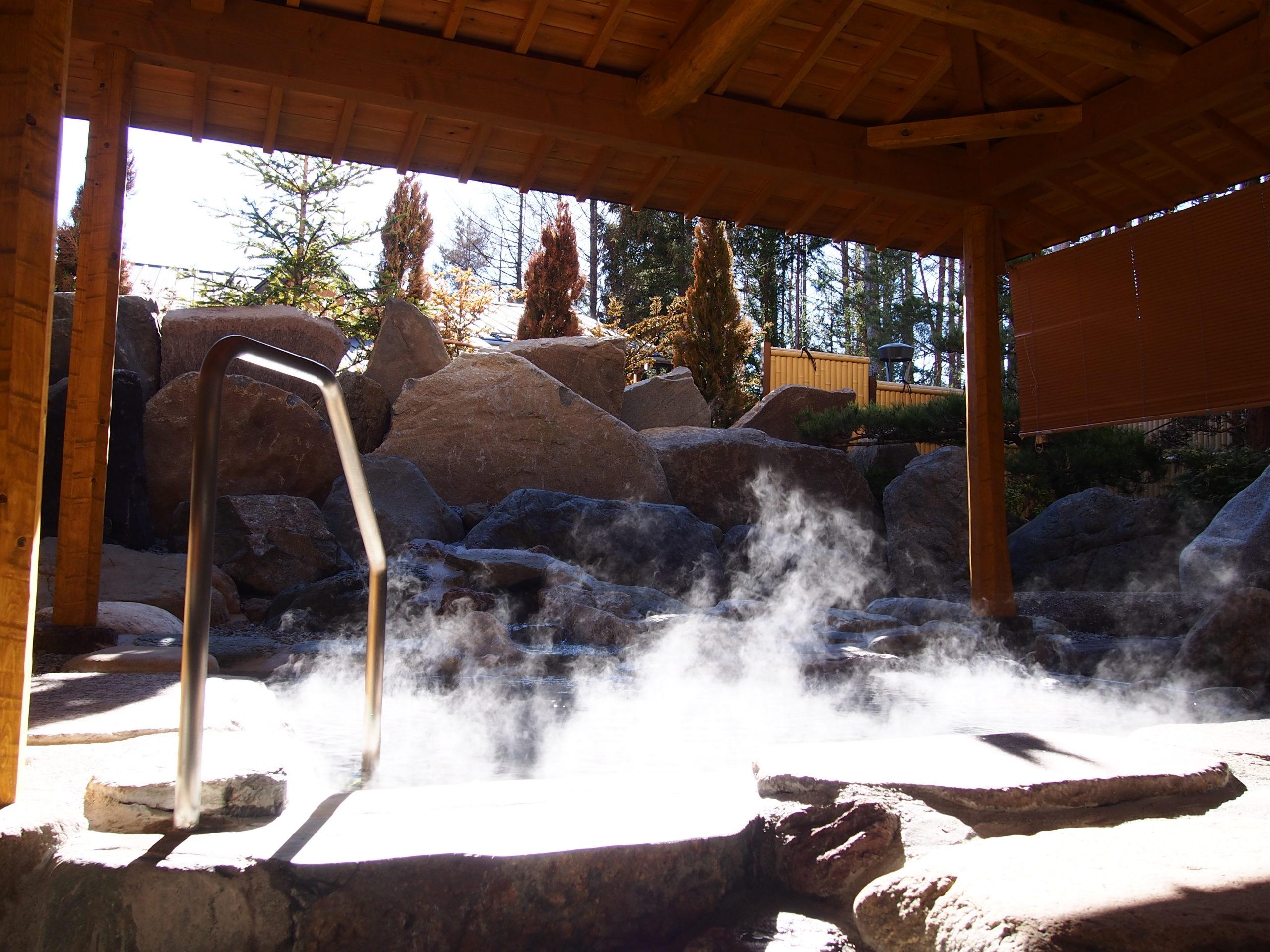 【冬季限定】ホテルで朝風呂!